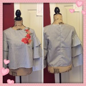 2 for $40-pretty love j blouse